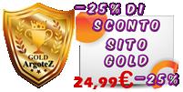 Menu Sito Vetrina Gold ArgoteZ