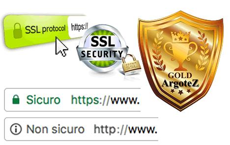 Sito Vetrina Gold Protocollo Https Di Sicurezza Gratuito Argotez
