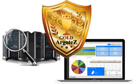 Sito Vetrina Gold Server Monitoring Argotez
