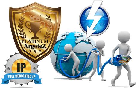 Sito Vetrina Platinum Larghezza Banda Illimitata Argotez