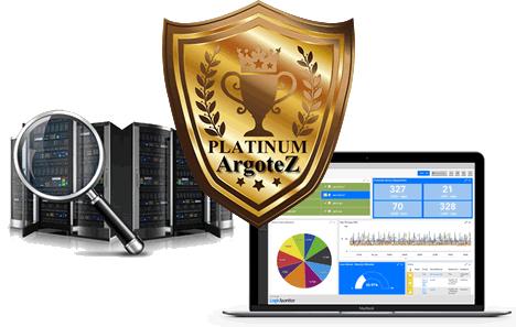 Sito Vetrina Platinum Server Monitoring Argotez