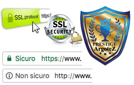 Sito Vetrina Prestige Protocollo Https Di Sicurezza Gratuito Argotez