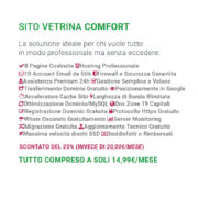 Descrizione Abbonamento Sito Vetrina Comfort