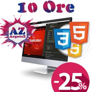 Copertina Servizio Extra 10 Ore Sviluppo Applicazioni E Pagine Web