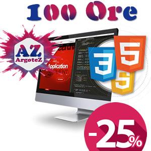 Copertina Servizio Extra 100 Ore Sviluppo Applicazioni E Pagine Web