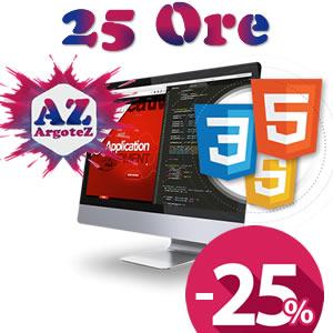 Copertina Servizio Extra 25 Ore Sviluppo Applicazioni E Pagine Web