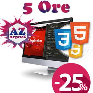 Copertina Servizio Extra 5 Ore Sviluppo Applicazioni E Pagine Web
