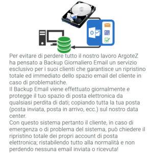 Descrizione Servizio Extra Backup Giornaliero Email