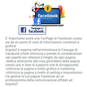 Descrizione Servizio Extra Gestione Fanpage Facebook