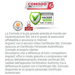 Descrizione Servizio Extra Https Certificato Ssl Comodo