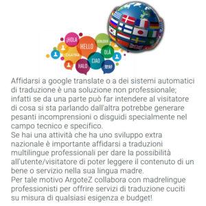 Descrizione Servizio Extra Traduzioni Multilingue Professionali